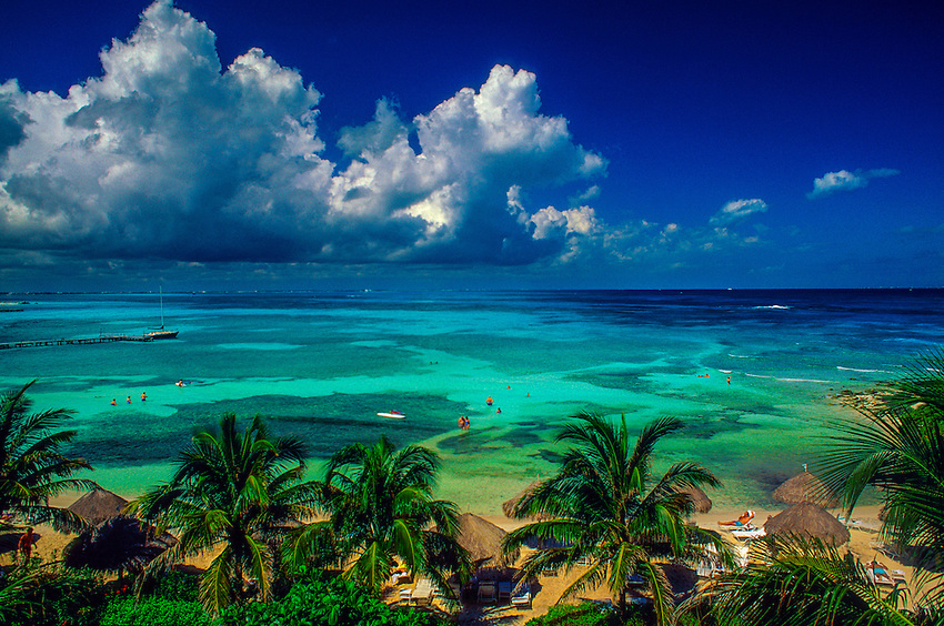 Exploring The Colorful Mexican Caribbean Sea