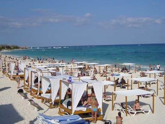 Beach Clubs In Playa Del Carmen